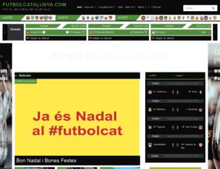 futbolcatalunya.com screenshot