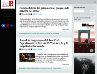 futbolconpropiedad.blogspot.com screenshot