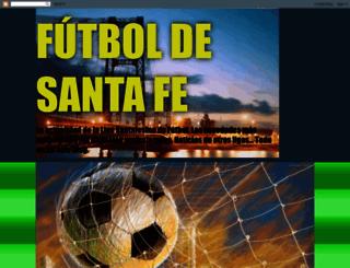 futboldesantafe.blogspot.com.ar screenshot