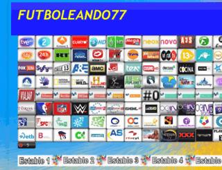 futboleando77.blogspot.com.es screenshot