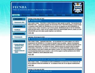futbolexalumnoscnba.blogspot.com.ar screenshot