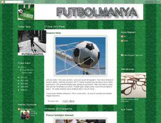 futbolmanya.blogspot.com screenshot