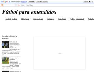 futbolparaentendidos.blogspot.com.ar screenshot
