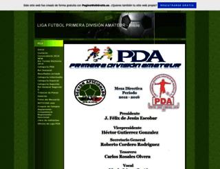 futbolpda.es.tl screenshot