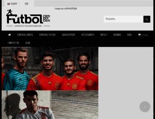futbolshop.com screenshot
