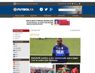 futbolsudamerica.com screenshot