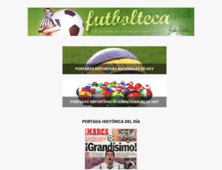 futbolteca.net screenshot