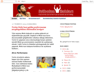 futbolunilahlari.blogspot.com.tr screenshot