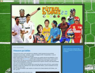 futbolytapas.blogspot.com screenshot