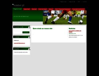futebol-pt.webnode.pt screenshot