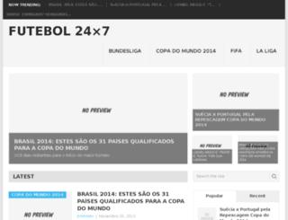 futebol24x7.com screenshot
