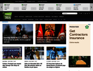 futebol365.pt screenshot