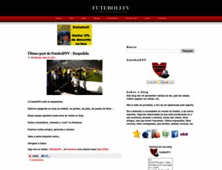 futebolffv.blogspot.com screenshot