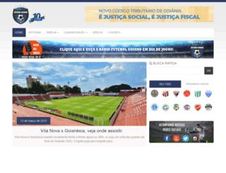 futebolgoiano.com.br screenshot