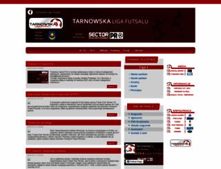 futsal.tarnow.pl screenshot