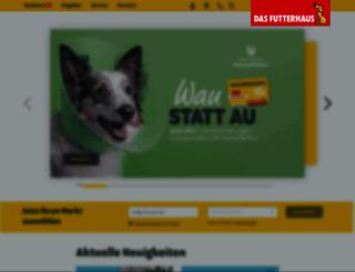 futterhaus.de screenshot