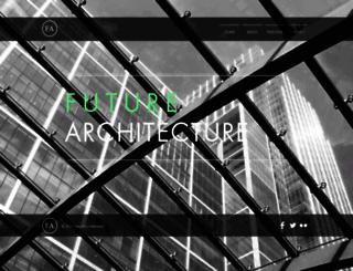 future-architecture.co.uk screenshot
