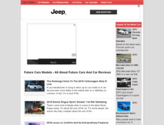 futurecarsmodels.com screenshot