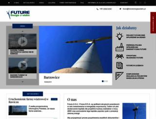 futureenergiazwiatru.pl screenshot