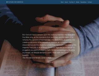 futureforamerica.org screenshot