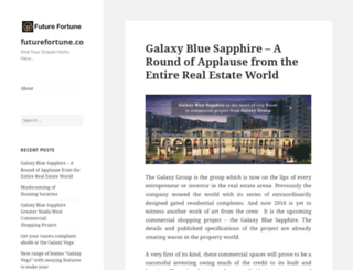 futurefortuneblog.wordpress.com screenshot