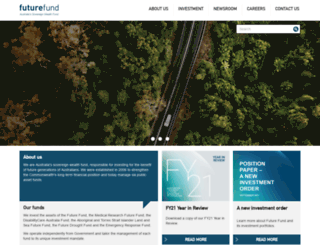 futurefund.gov.au screenshot