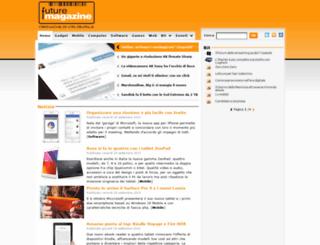 futuremagazine.it screenshot