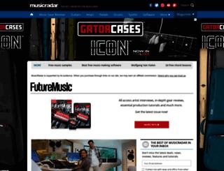 futuremusic.co.uk screenshot