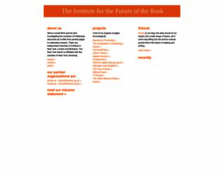 futureofthebook.org screenshot