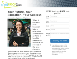 futureproofgoals.com screenshot