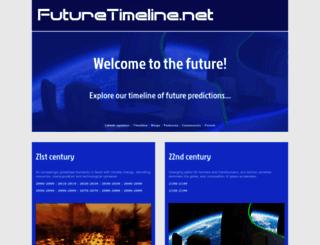 futuretimeline.net screenshot