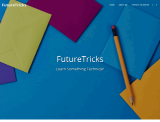 futuretricks.site123.me screenshot