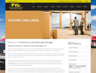 futurevanlines.com screenshot