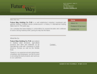 futurewayholding.com screenshot