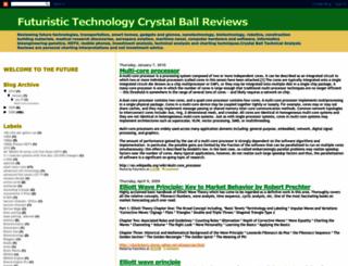 futuristicstechnology.blogspot.com screenshot