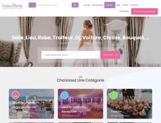 futurs-maries.net screenshot