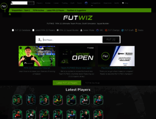 futwiz.com screenshot