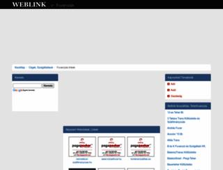fuvarozas.weblink.hu screenshot