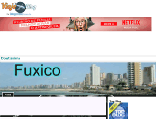 fuxiqueiro.viajeblog.com.br screenshot