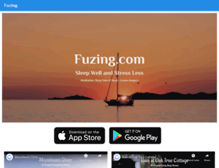 fuzing.com screenshot