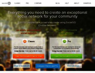 fuzzbox.socialgo.com screenshot