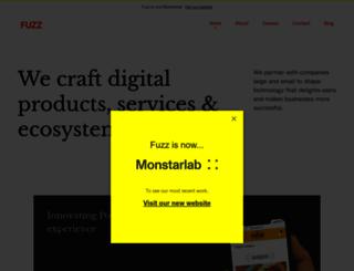 fuzzproductions.com screenshot