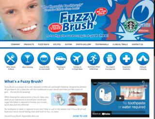 fuzzybrush.com screenshot
