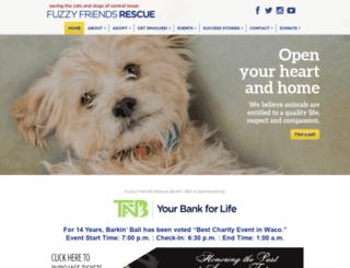 fuzzyfriendsrescue.com screenshot
