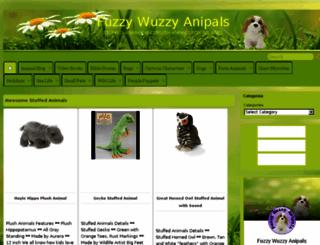 fuzzywuzzyanipals.com screenshot