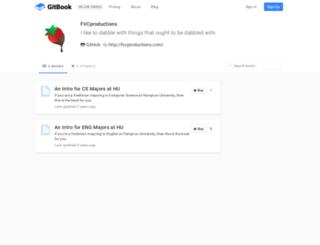 fvcproductions.gitbooks.io screenshot