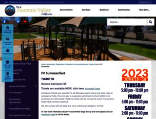 fvsummerfest.com screenshot