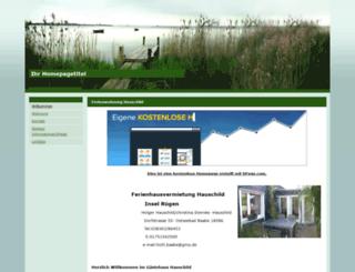 fw-hauschild.npage.de screenshot