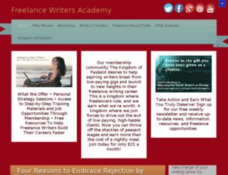 fwa.freelancewritersacademymembership.com screenshot