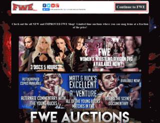fwewrestling.com screenshot